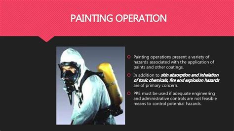 spray painter ppe personal protective equipment