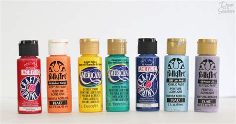 acrylic paint how to use how to choose the right acrylic paint for your craft project