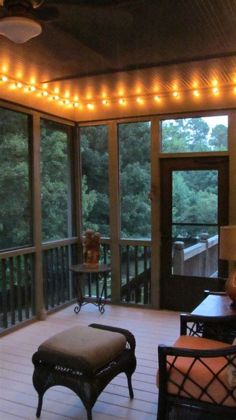 string lights for screened porch best 25 screened patio ideas on enclosed