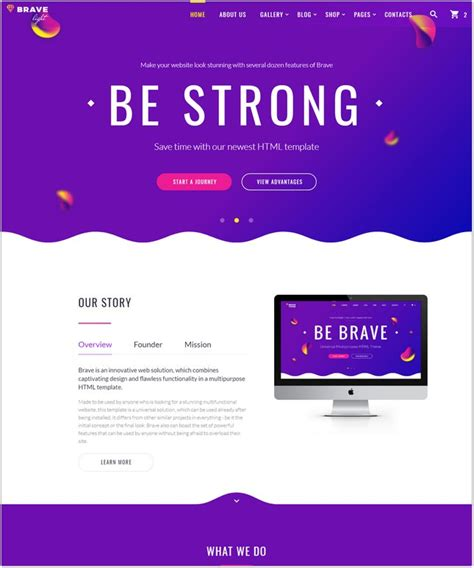 30 Best Advertising Marketing Website Templates 2018 Templatefor Universal Website Template