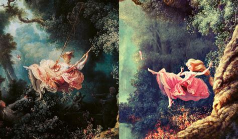 the swing movie art on film fragonard gets quot frozen quot art docent program