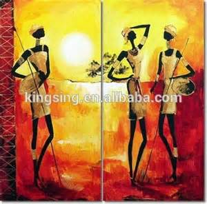 Cheap African Home Decor cheap home decor wall abstract african women oil painting buy