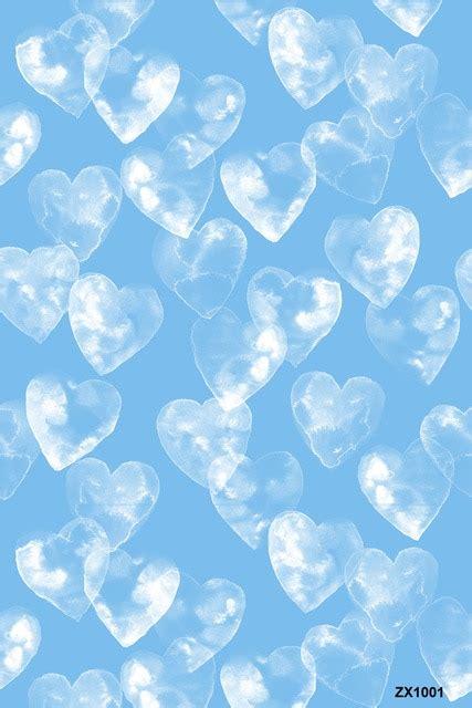 life magic box vinyl blue heart background valentines day