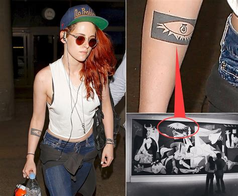 kristen stewart photos celebrity tattoos ny daily news