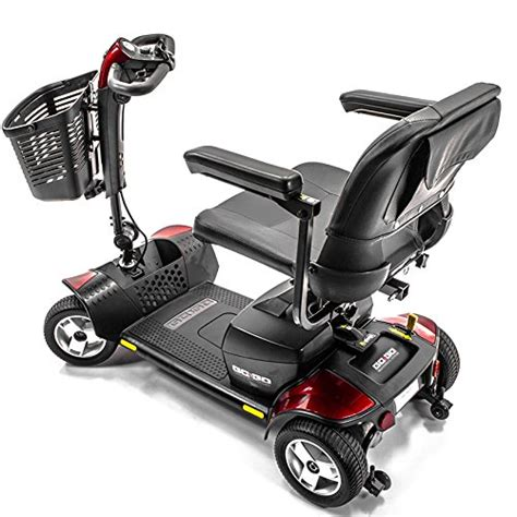 go go sport 4 wheel electric mobility travel scooter s74