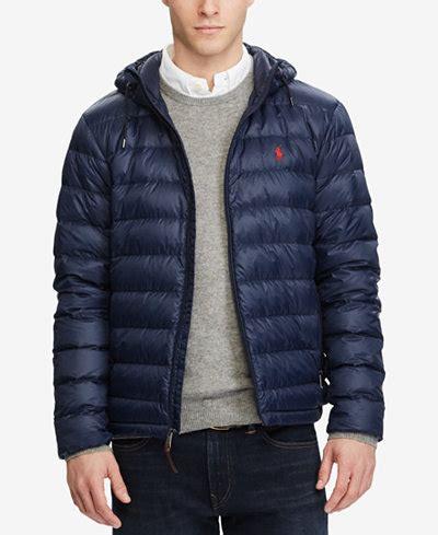 Jaket Parka Tipe A Polos Navy polo ralph s packable jacket coats jackets macy s