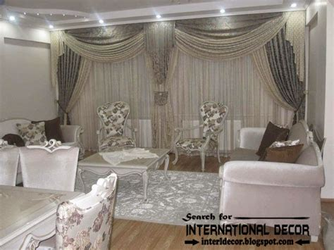 Contemporary Grey Curtain Designs For Living Room 2015 Drapery Designs For Living Room