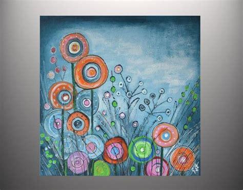 Moderne Kunst Vorlagen Acrylmalerei Bl 252 Tenzauber 60x60 Acrylbild Moderne Malerei Ein Designerst 252 Ck