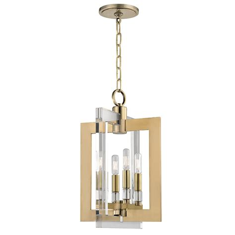 Light Fixtures For Foyer Hudson Valley 9312 Agb Wellington Modern Aged Brass 12 Quot Wide Entryway Light Fixture Hud 9312 Agb