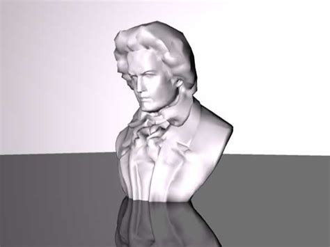 beethoven animated biography bust of ludwig van beethoven obj obj software life forms