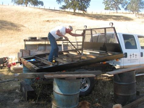 do it yourself flat bed truck conversion the view from