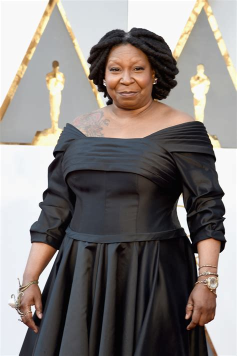 whoopi goldberg tattoo whoopi goldberg shows shoulder at 2016