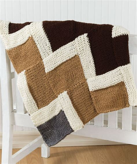 free zig zag knit pattern easy knit zigzag afghan knitted blankets pillows
