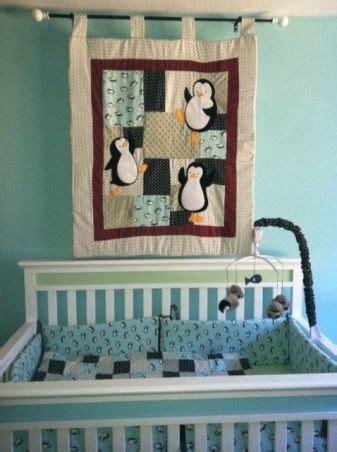 penguin crib bedding penguin crib bedding penguin baby quilt chevron gray