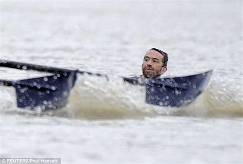 sinking boat race boat race 2012 trenton oldfield is thames swimmer who