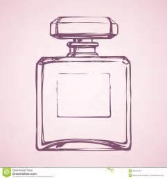 sketch book lumen flasche parf 252 m blumenhintergrund mit gras vektor abbildung