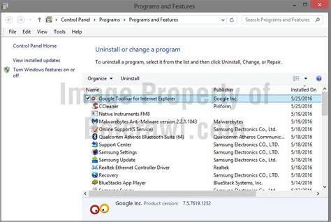 google search toolbar internet explorer uninstall google toolbar internet explorer