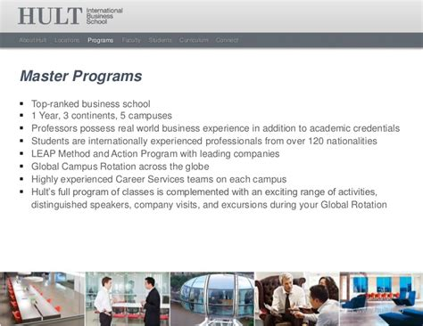 Hult International Business School 1 Year Mba Shanghai by Hult International Business School Masters Overview 2012