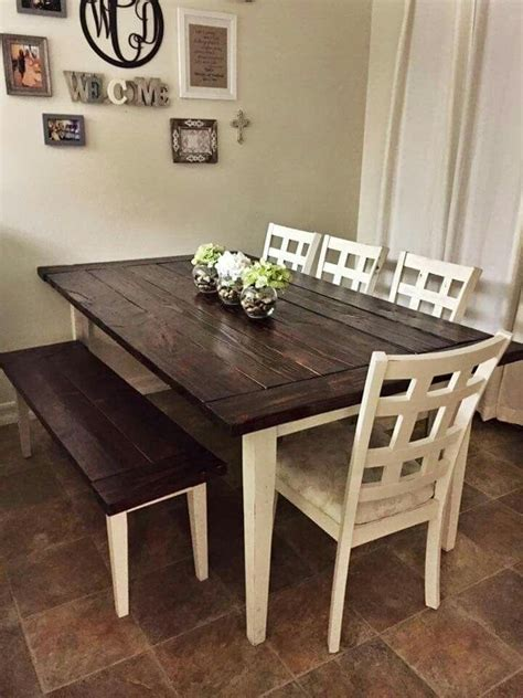 best 20 farmhouse table chairs ideas on pinterest dining tables with white legs and wooden top dining room