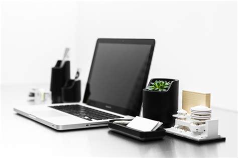 Designer Office Desk Accessories Base S Polystone Plastic Desktop Organizers Core77