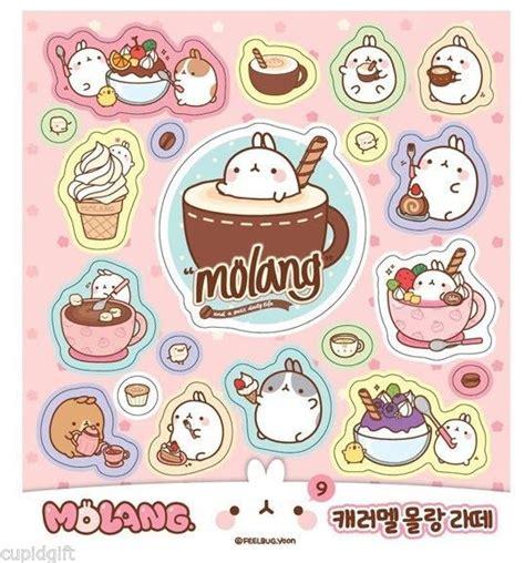 molang books molang sticker mini book 426ea diary scrapbook korean
