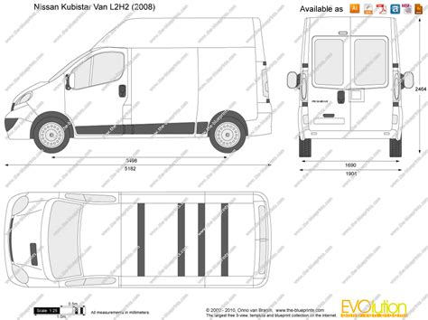 Custom Order 2 By Derma Prima nissan primastar l2h2 vector drawing