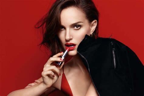 new lipstick commercial 2016 natalie portman for rogue dior 2016 caign hawtcelebs