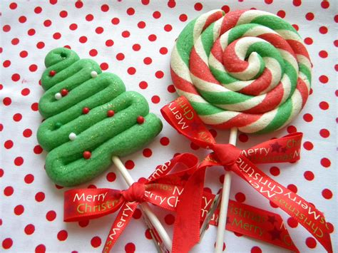 christmas treats occasional cookies christmas lollipops cookies