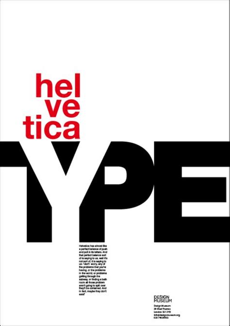 typography museum helvetica poster font posters bristol the white and museums