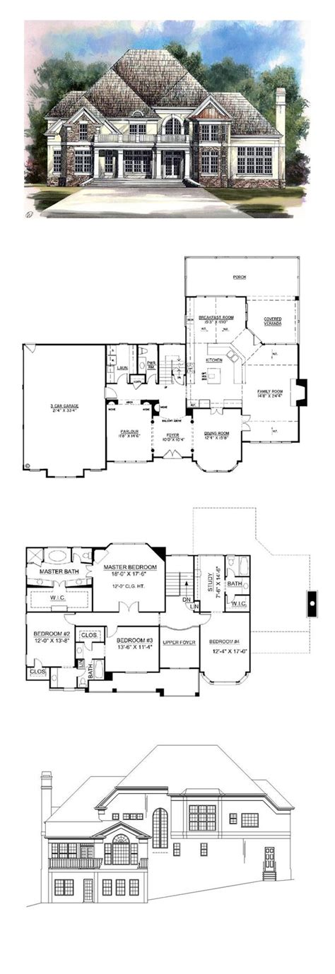 49 best images about revival house plans on