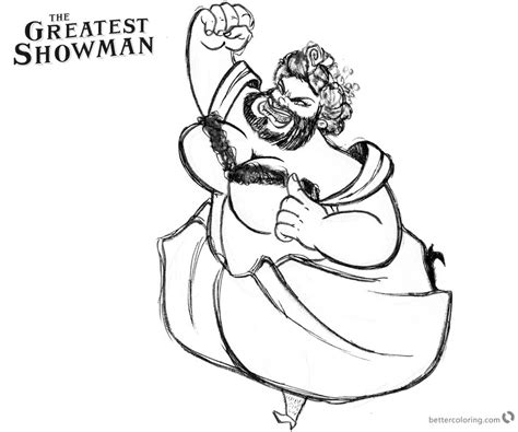 the greatest showman zendaya coloring pages fan