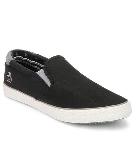 original penguin black casual shoes price in india buy