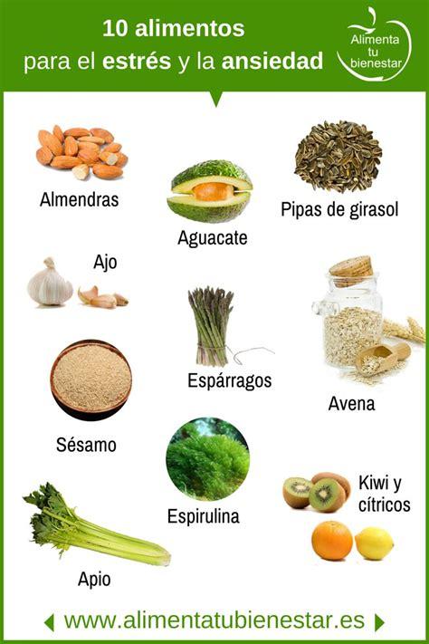 10 alimentos que te ayudar 225 n a reducir el estr 233 s coaching10 - Alimentos Para La Ansiedad