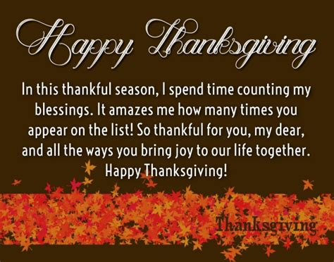 thanksgiving love quotes for her thank you sayings part 3