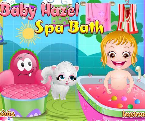 baby hazel in bathroom baby hazel spa bath 171 baby hazel games