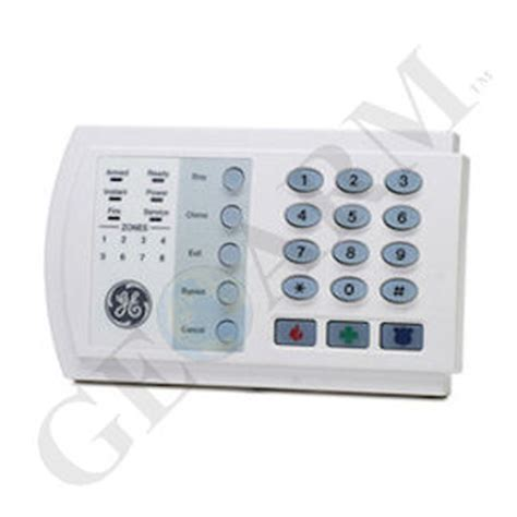 nx 108e ge networx 8 zone led alarm keypad