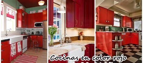decoracion de interiores cocinas decoraci 243 n de interiores cocinas en color rojo curso