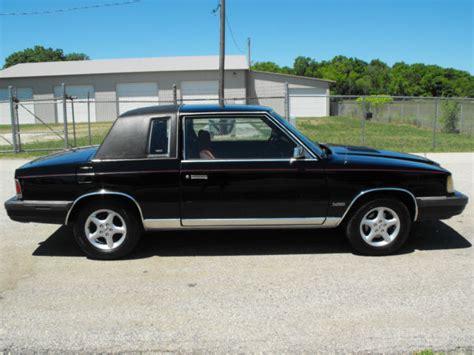 Chrysler K Car For Sale by 1986 Chrysler Lebaron Turbo K Car Clean Coupe