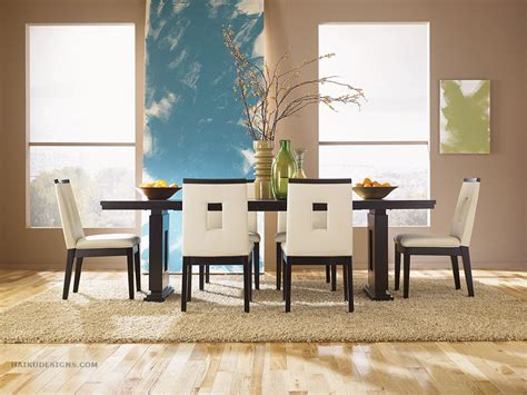 Dining Room Furniture Layout Modern Furniture Asian Contemporary Dining Room Furniture From Haiku Designs