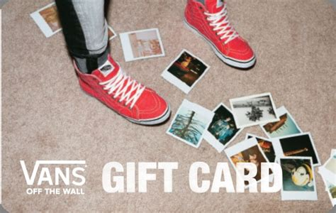 Vans Gift Card - vans gift card 50 bucks abby s gift ideas pinterest