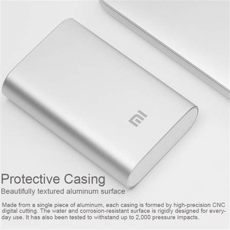 Powerbank Xiaomi 10000mah Slim xiaomi slim mobile power bank usb charger 10000mah