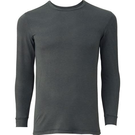 Uniqlo Mens Sweatpants Grey Original uniqlo heattech crewneckt shirt in gray for gray lyst