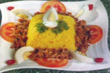 cara membuat nasi tim dengan panci presto nasi kuning presto resep masakan indonesia