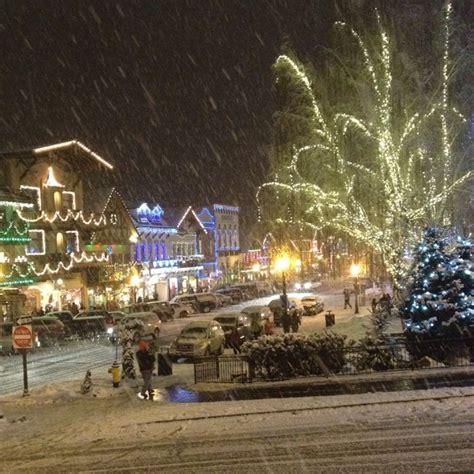 Christmas Lighting Leavenworth Wa It S So Magical There Lighting Leavenworth