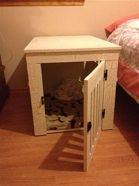 dog crate made out of dresser diy dog crate hubby made this out of wood and i painted