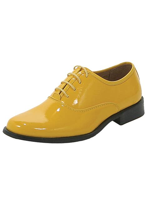yellow tuxedo shoes dress shoes