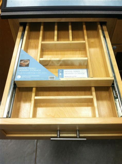 Kitchen Cabinet Organizer Drawers 25 Best Ideas About Silverware Storage On