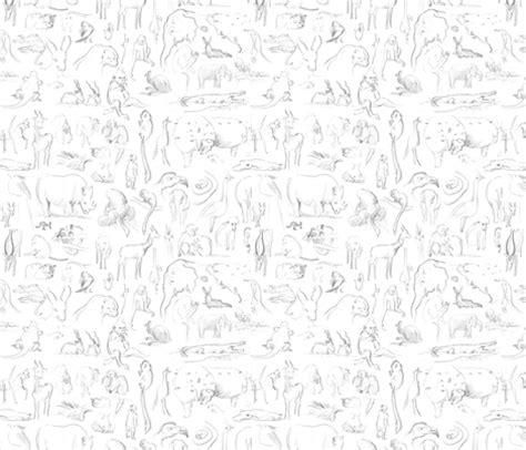 design pattern for zoo zoo pattern wallpaper beesmizzle spoonflower