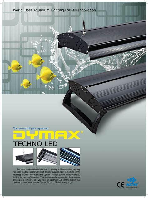 Dymax Hang On Fan advance reef dymax techno led lighting