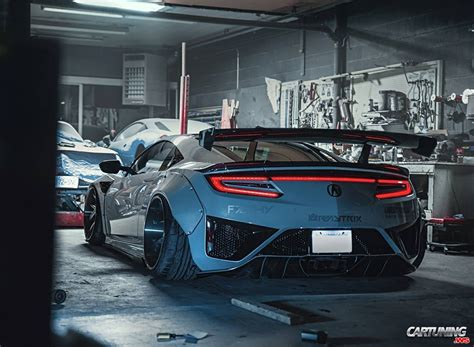 Acura Nsx Wide Kit by Acura Nsx 2018 Wide Back
